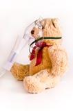 Кислородный изолирующий противогаз на медведе Стоковые Изображения