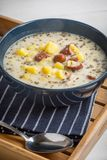 Кислый суп в шаре Стоковые Фото