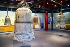 Китаец Азии, Пекин, ¼ Œ exhibitionï ŒIndoor ¼ Dazhongsi старое колокола Museumï Стоковые Фото