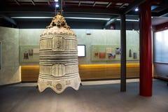 Китаец Азии, Пекин, ¼ Œ exhibitionï ŒIndoor ¼ Dazhongsi старое колокола Museumï Стоковые Фотографии RF