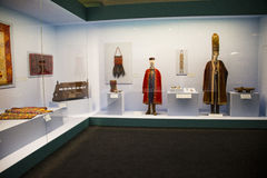 Китаец Азии, Пекин, Национальный музей, русская национальная выставка культурных реликвий Стоковое Изображение RF