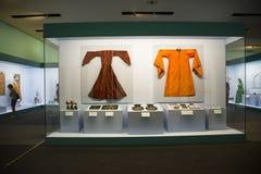 Китаец Азии, Пекин, Национальный музей, русская национальная выставка культурных реликвий Стоковая Фотография RF
