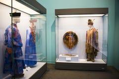 Китаец Азии, Пекин, Национальный музей, русская национальная выставка культурных реликвий Стоковые Изображения