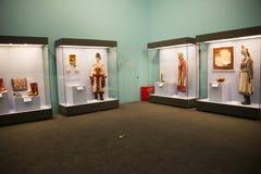 Китаец Азии, Пекин, Национальный музей, русская национальная выставка культурных реликвий Стоковая Фотография