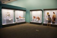 Китаец Азии, Пекин, Национальный музей, русская национальная выставка культурных реликвий Стоковое Изображение
