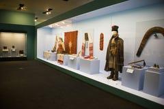 Китаец Азии, Пекин, Национальный музей, русская национальная выставка культурных реликвий Стоковые Изображения RF