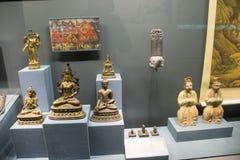Китаец Азия, Пекин, прописной музей, старая столица выставки Пекина, исторических и культурных Стоковые Изображения RF