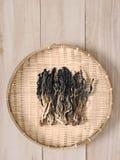 Китаец высушил листья мустарда Стоковое Фото
