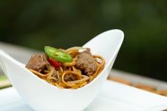 Китаец обедая outdoors Стоковые Изображения RF