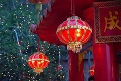 Китайская лампа Стоковая Фотография