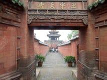 Китайская архитектура виска стоковое изображение