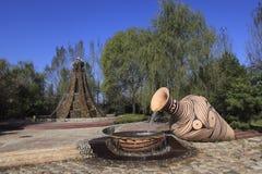 Китайская архитектура сада Стоковое Изображение RF