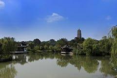 Китайская архитектура Стоковая Фотография RF