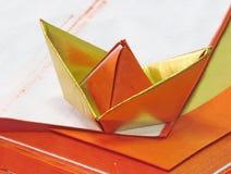 Китайская бумага золота Стоковое Фото