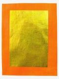 Китайская бумага золота Стоковые Изображения