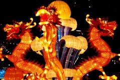 китайская бумага фонарика Стоковые Фото