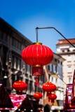 Китайская бумага Lanters Стоковые Фотографии RF