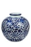 китайская ваза фарфора Стоковые Изображения