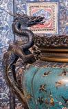 китайская ваза стоковые изображения