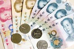 Китайская валюта Стоковая Фотография