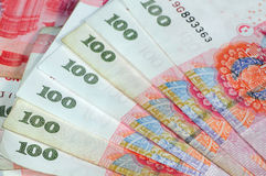 китайская валюта Стоковое Изображение RF