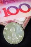 китайская валюта Стоковое Изображение