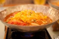 Китайская вегетарианская тарелка Стоковое Фото