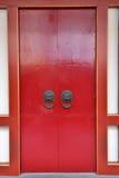 Китайская дверь Стоковая Фотография