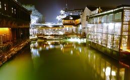 китайская вода городка Стоковое Изображение