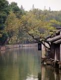 китайская вода городка Стоковые Изображения