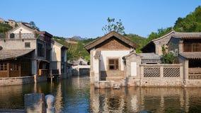 китайская вода городка Стоковое Изображение RF