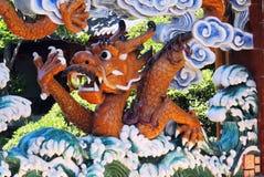 китайская вода дракона Стоковое Изображение