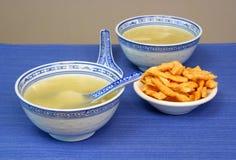 китайская выигранная тонна супа dishware Стоковая Фотография