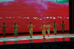 Китайская гимнастика стоковая фотография rf