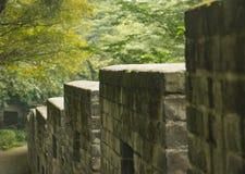 Китайская городская стена стоковая фотография rf
