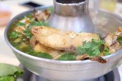 Китайская горячая еда бака Стоковое Изображение RF
