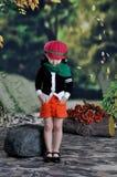 китайская девушка самомоднейшая Стоковая Фотография RF