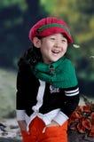китайская девушка самомоднейшая Стоковые Изображения RF