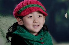 китайская девушка самомоднейшая Стоковое фото RF