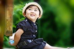 китайская девушка симпатичная Стоковые Изображения RF