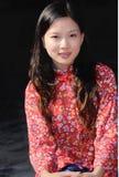 китайская девушка традиционная Стоковое фото RF