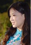 китайская девушка традиционная Стоковые Фото