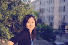 китайская девушка Стоковые Фотографии RF