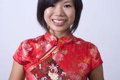 Китайская девушка Стоковые Изображения RF