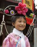 Китайская девушка - Chengdu - Китай стоковое фото