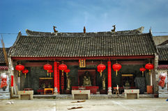 китайская дом старая Стоковая Фотография RF