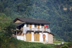 китайская дом s хуторянина стоковые фото