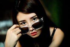 китайская девушка Стоковое Фото