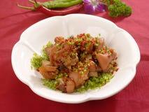 китайская еда таинственная Стоковая Фотография RF