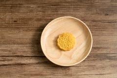 Китайская еда, торт луны Средний-осени стоковое изображение rf